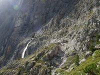 Via ferrata Brigata Tridentina - vodopád