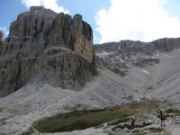 Via ferrata Brigata Tridentina - rif.pisciadú,lech de pisciadú
