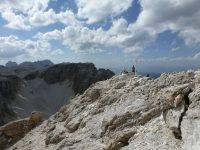 Via ferrata Brigata Tridentina - cima pisciadú