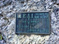 Via ferrata Brigata Tridentina