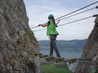 Drachenwand - lanový most