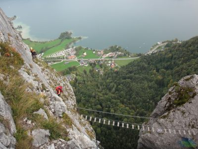 Na ferratě Drachenwand
