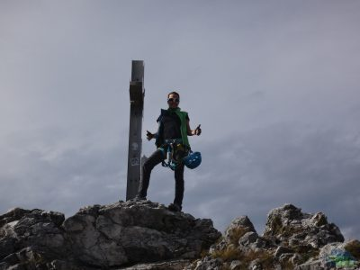 Drachenwand - na vrcholu