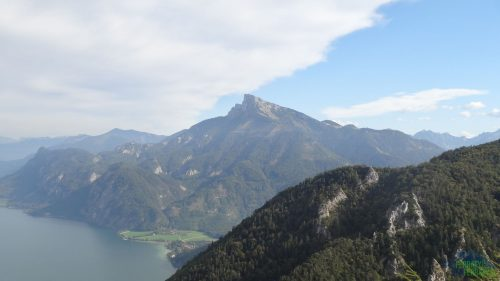 Drachenwand - pohled na jezero Mondsee
