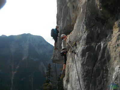 Erchenwand Klettersteig