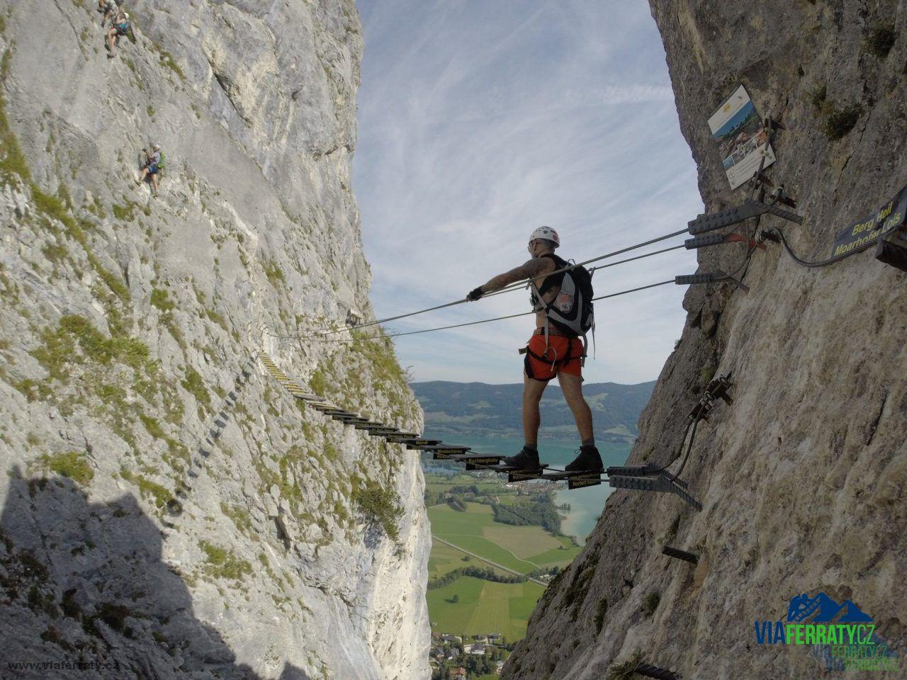 Klettersteig Drachenwand : Drachenwand klettersteig viaferraty cz