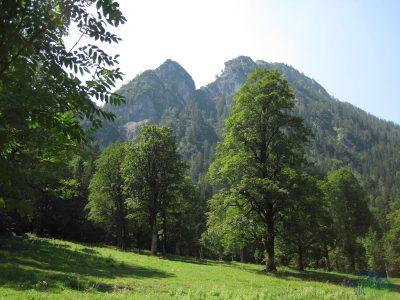 Ferrata Grünstein - cestou k ferratě
