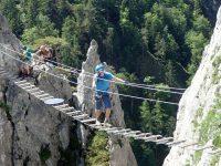 Drachenwand - Pověstný lanový most
