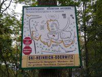 Reisenboulder - plánek lezecké oblasti