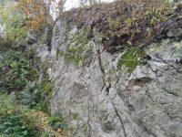 Reisenboulder - nástup na via ferratu