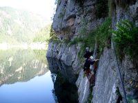 Laserer Alpin Klettersteig
