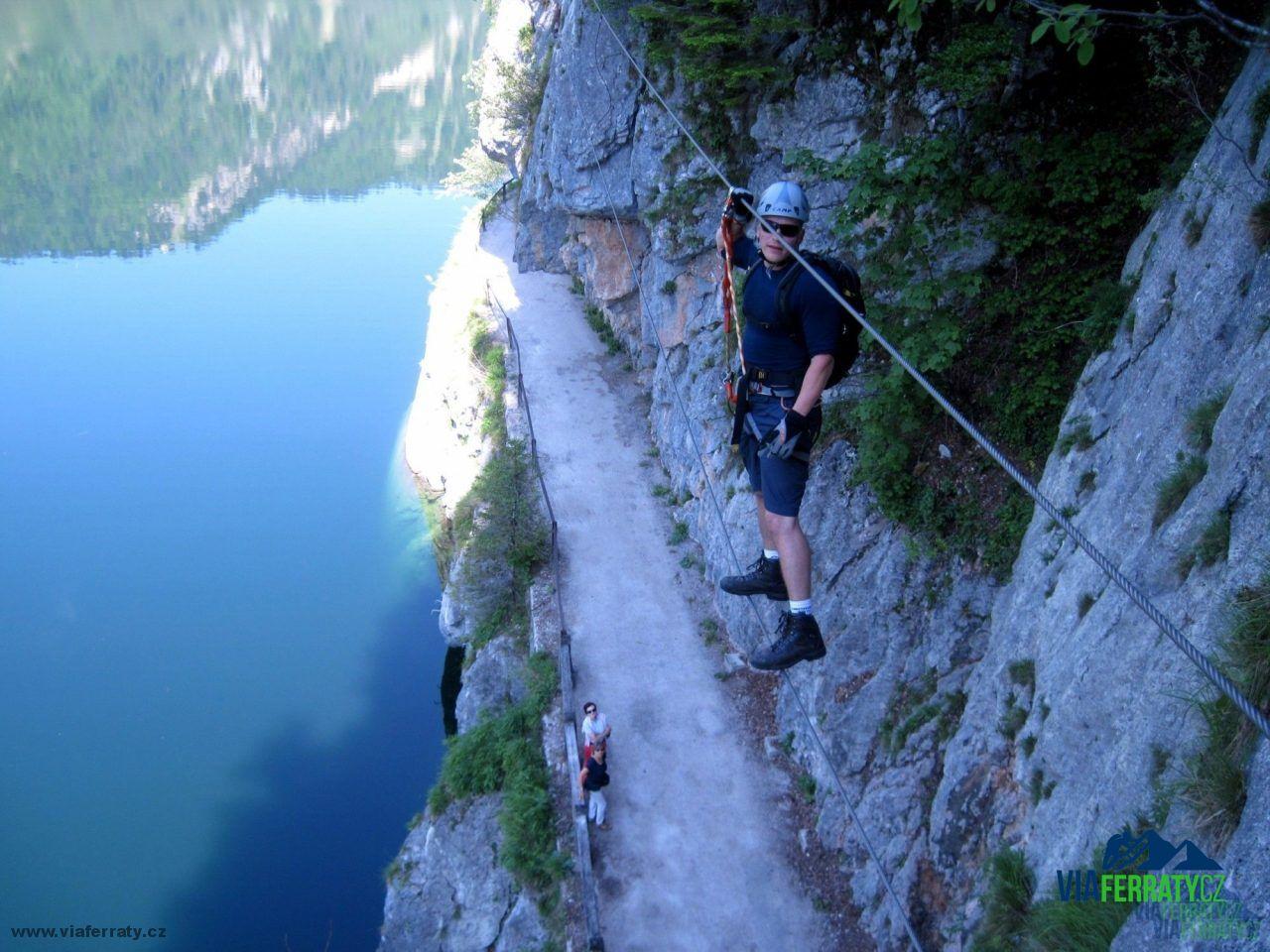 Laserer Alpin Klettersteig : Laserer alpin klettersteig am gosausee alpenverein