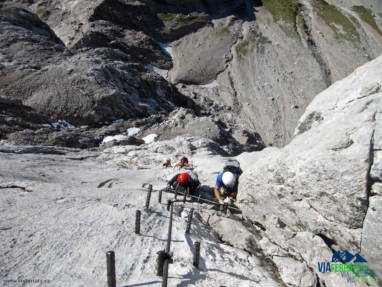 Klettersteig Johann : Anna johann klettersteig topo bergfex d e