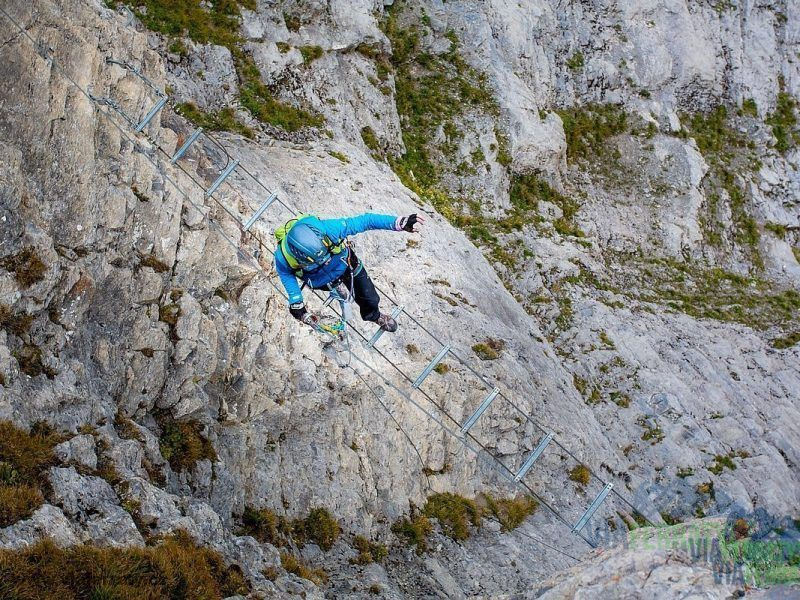 Gemmiwand Klettersteig