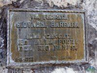 Via Ferrata Giovanni Barbara - Cengia Matia