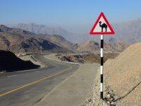 Snake Gorge – via ferrata v poušti Ománu
