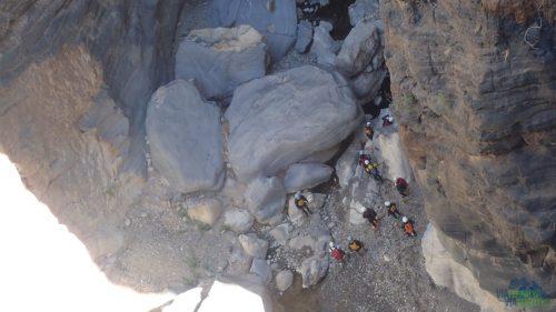 Na dně lze provozovat canyoning