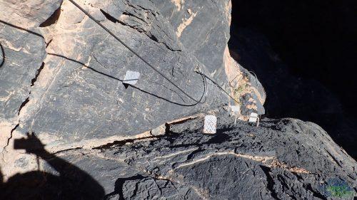 Tam kde chybí přírodní stupy jsou ocelové