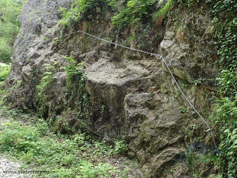 City Wall Klettersteig - Aqua Salza