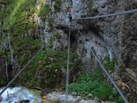 Rosina - lanový most