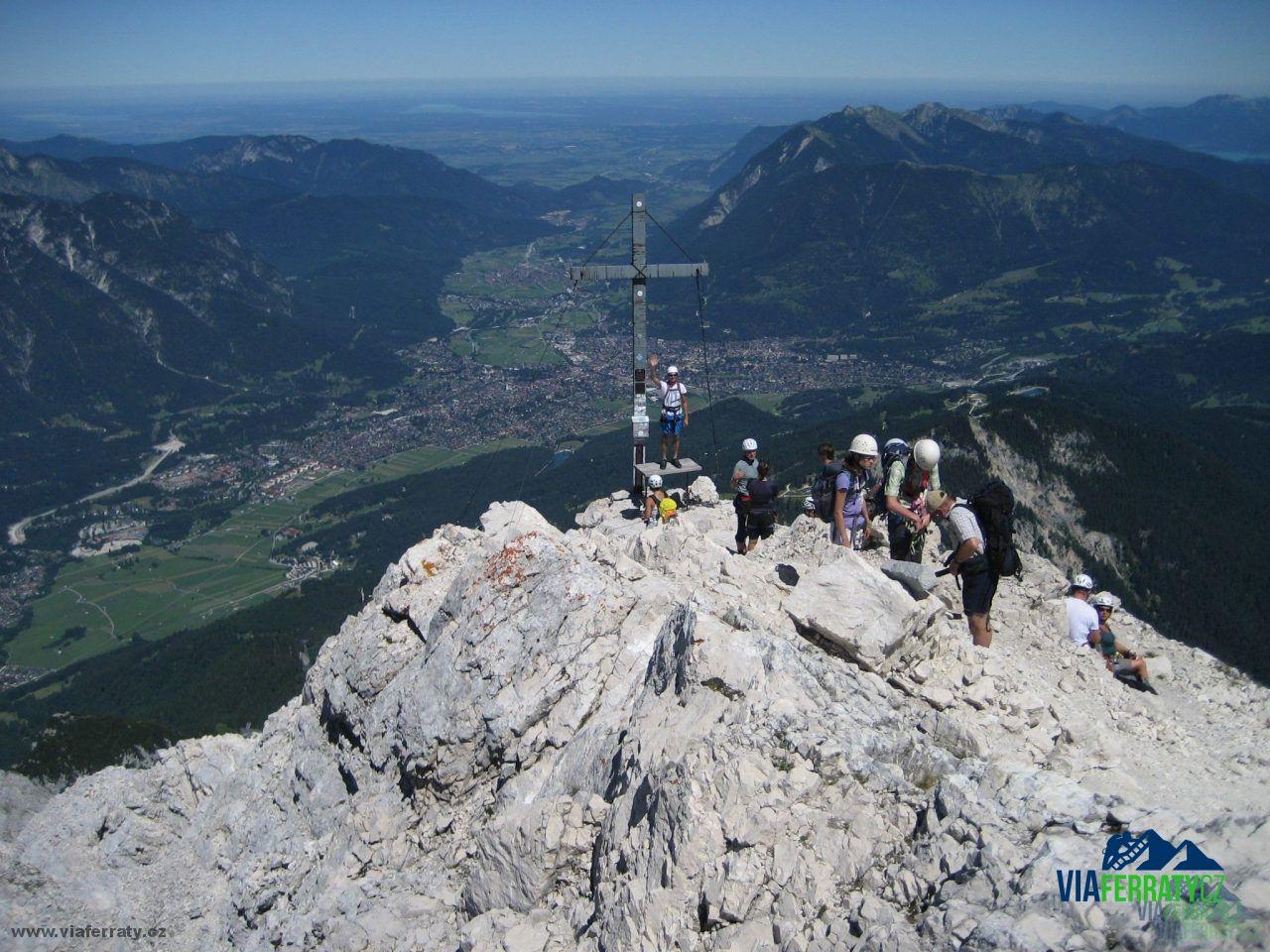 Klettersteig Ferrata : Alpspitze über alpspitz ferrata bergtour klettersteig info
