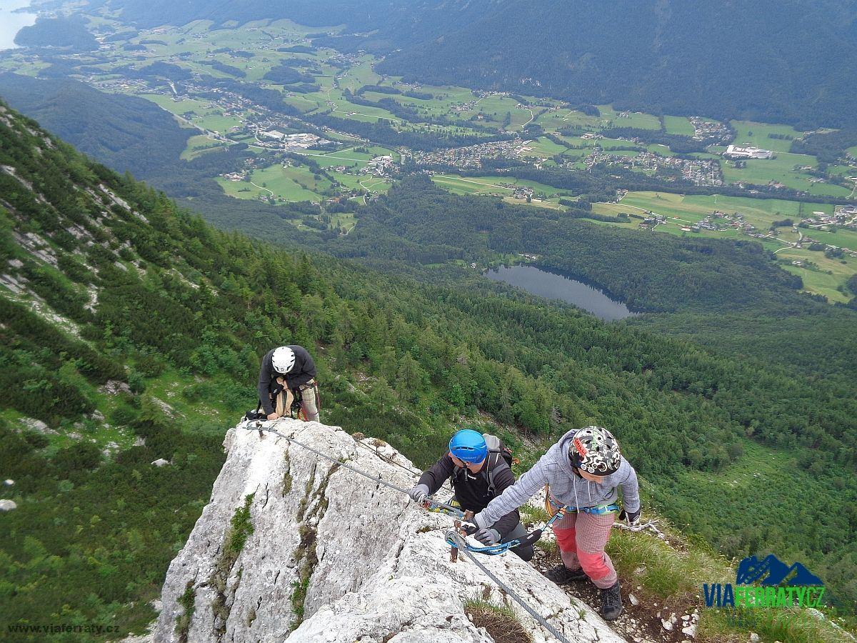 Klettersteig Rakousko : Katrin klettersteig viaferraty.cz