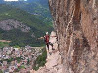 Monte Albano Klettersteig