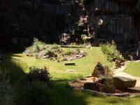Parková úprava ferátového parku v Liberci.