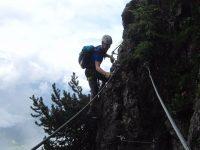 Schützensteig Klettersteig - Jenner