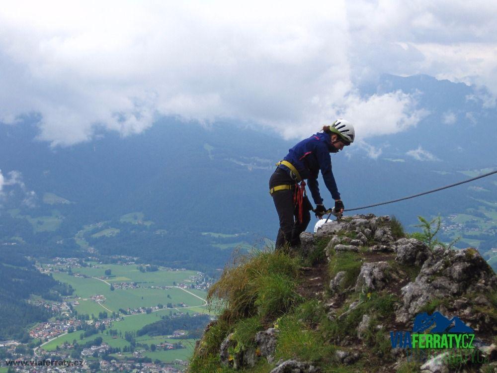 Klettersteig Jenner : Schützensteig klettersteig u jenner viaferraty cz