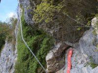 Trattenbacher Klettersteig - BeisteinmauerTrattenbacher Klettersteig - Beisteinmauer