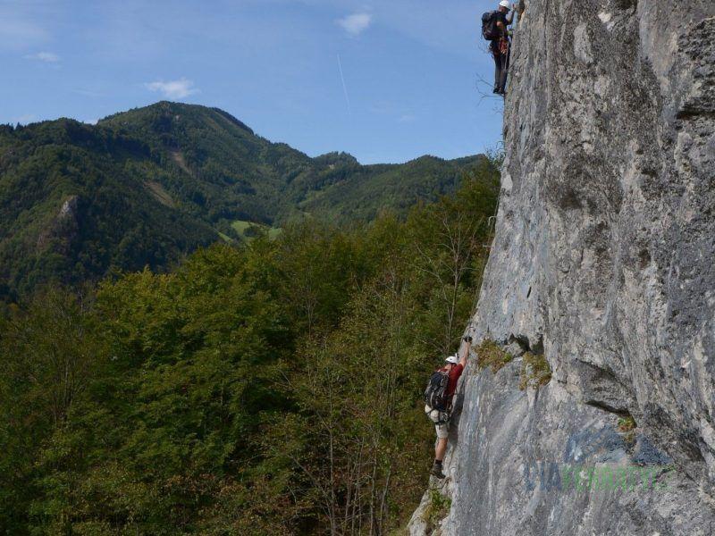 Trattenbacher Klettersteig - Beisteinmauer