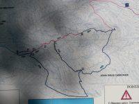 Mapa - Via Ferrata degli Artisti