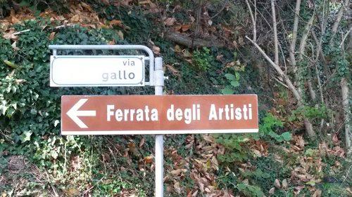 I cedule tu mají - Via ferrata degli Artisti