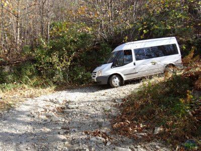 Kamenitá cesta nebyla zrovna nejrychlejší - Via ferrata degli Artisti