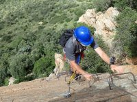Via ferrata Shelter Rock