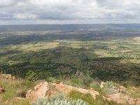 Via ferrata Shelter Rock - pohled z vrcholu.