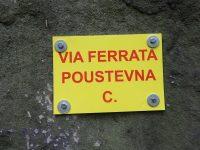 Via ferrata Poustevna