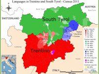 Italské severní Dolomity, pohoří tří jazyků
