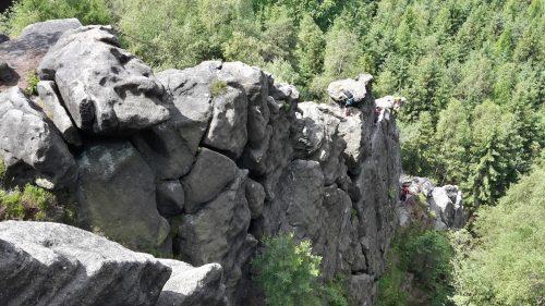 Nástup na Alpiner Grat
