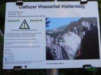 Dalfazer Wasserfall – Klettersteig Buchau