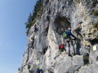 Felix' Himmelsleiter / Klettersteig Spielmäuer