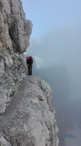 Dolomity - přechod Brenty po ferratách