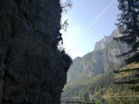 Laserer Alpin Klettersteig závěr