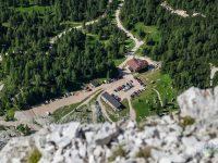 Chata A. Dibona z hora