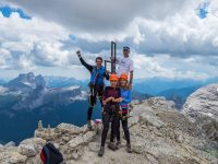 Via ferrata na vrchol Toffana di Mezzo