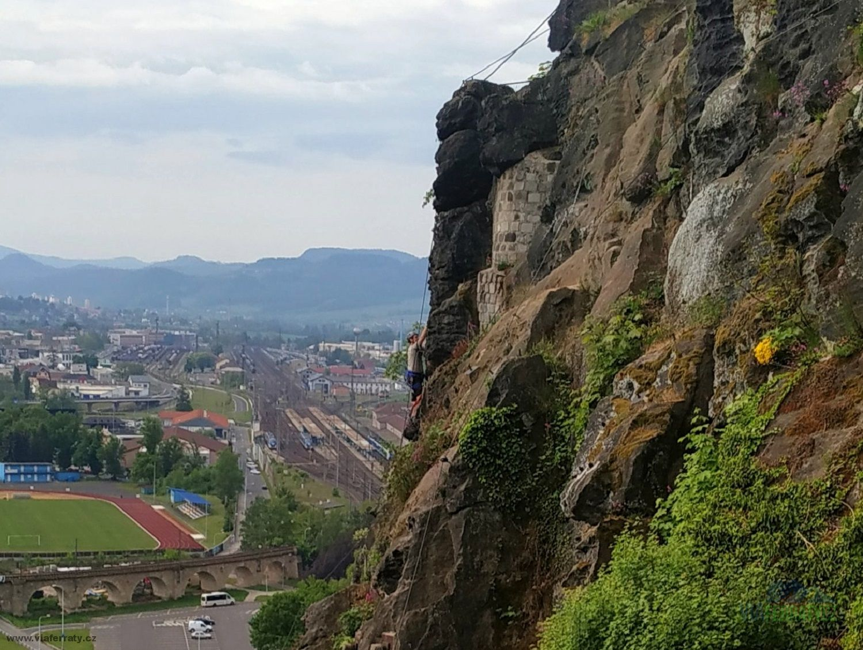 Via ferrata Pivovarská
