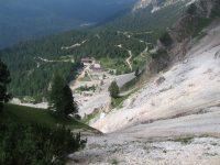 Výstup od Rifugio Dibona
