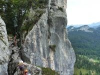 Via ferrata Leadership - Predigstuhl-horní část