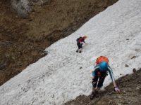 via-ferrata-alpenvereinsteig-sněhové-pole-duben